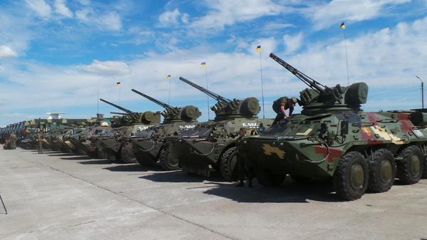 Украина планирует до конца года принять на вооружение еще 18 образцов  военной техники — Военный информатор