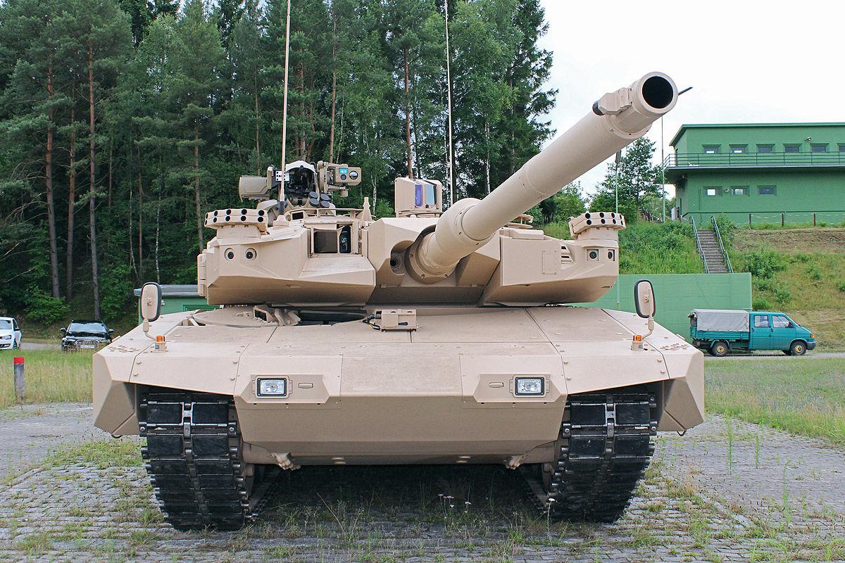 Фото-обзор новейшего германского танка MBT Revolution | Военный информатор