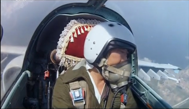 North Korean air force pilot take selfies for first time 1