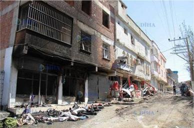 Turkish military operations in the Kurdish city of Semdinli 2