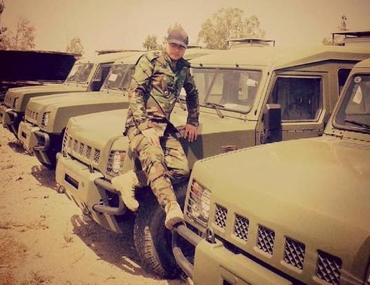 На вооружении сирийской армии появились китайские внедорожники BJ2022  Brave Warrior | Военный информатор