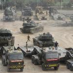 Турция стягивает к границе с Сирией тысячу единиц военной техники