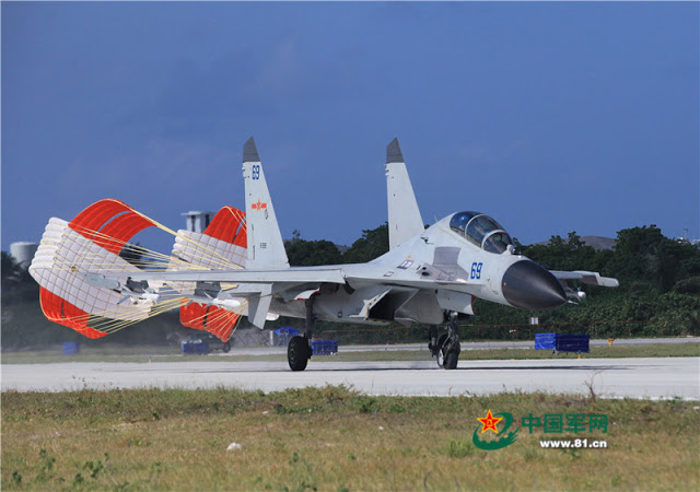 China deploys PLANAF J-11BH BHS fighters to Woody Island 3