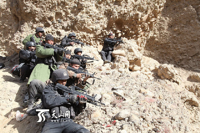 China kills 28 'terrorists' in Xinjiang after massive manhunt 1