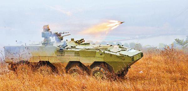 Новая китайская машина артиллерийской разведки на шасси ZSL10 (c) Jiefangjun Bao