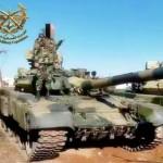 Сирийская армия получила партию российских танков Т-90