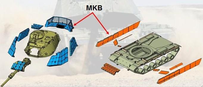 Схема бронирования танка М60T