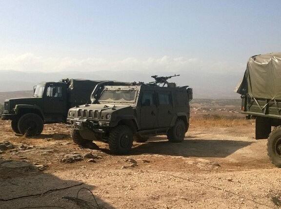"""Бронеавтомобиль """"Рысь""""  в Сирии"""