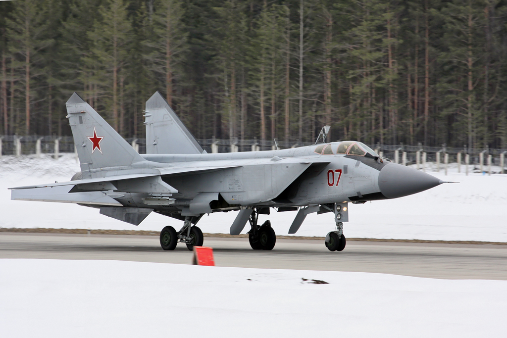 Mikoyan MiG-31 fighter jets