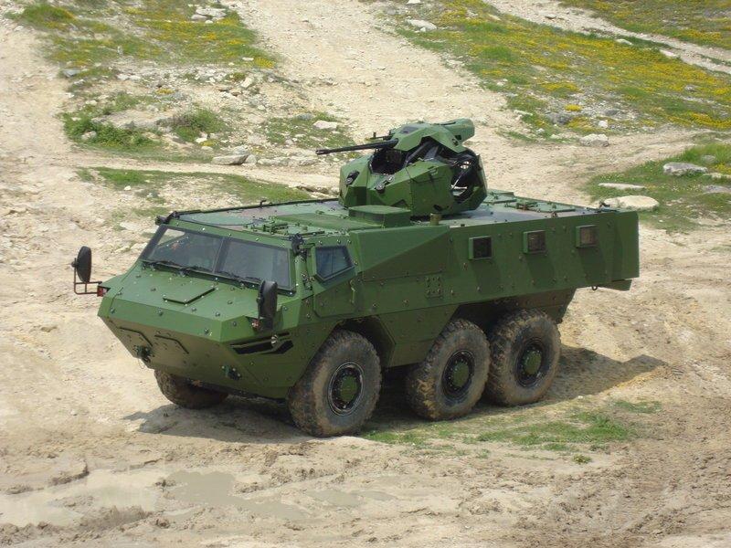 Бронированный транспортер «VAB Mk3»