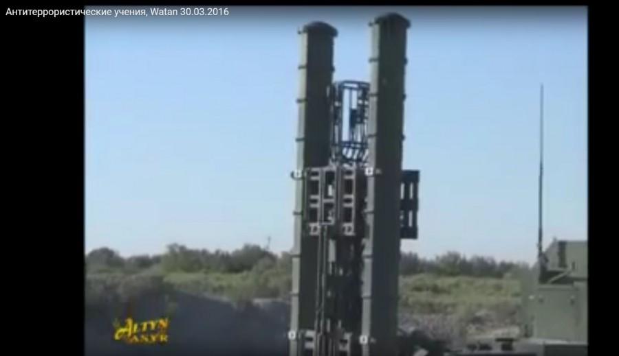 Комплекс ПВО во время учений в Туркменистане