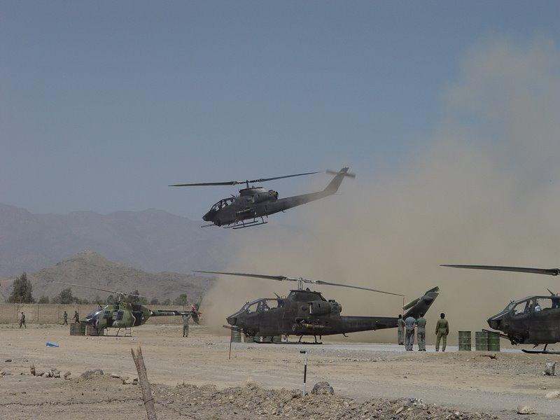 pakistan army aviation corps ah-1f s cobra gunship attack missiles wot war terror fata Baktar-Shikan ATGM tow anti tank missile  (3)
