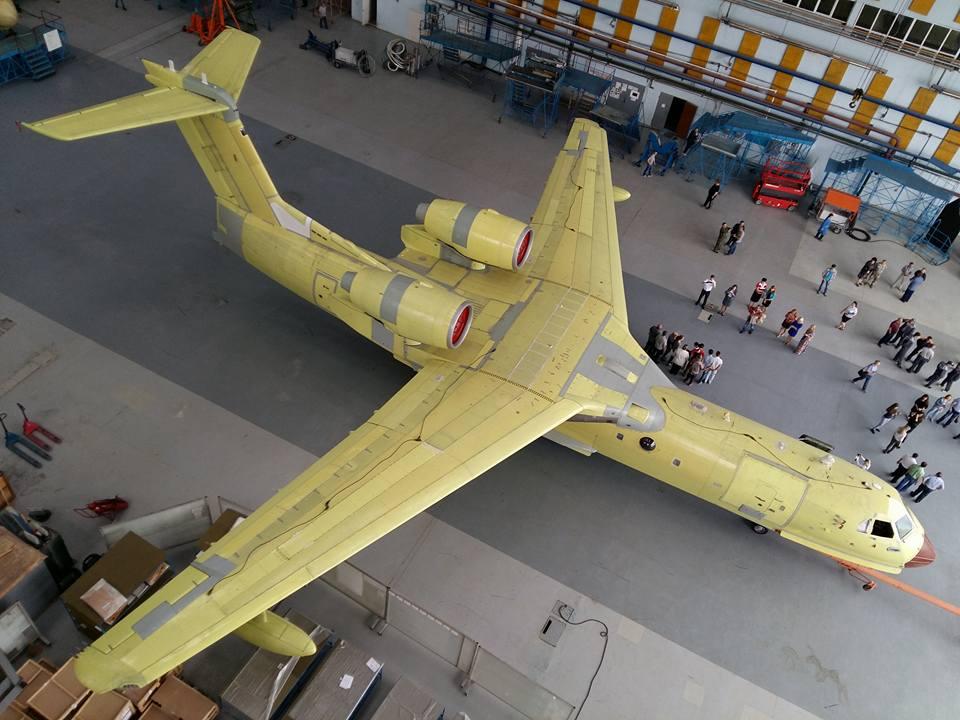 Бе-20ЧС в Таганроге (с) Marina Lystseva