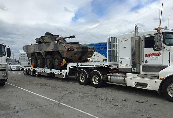 AMV35 в Автсралии (c) Aus Defence Magazine @austdefence
