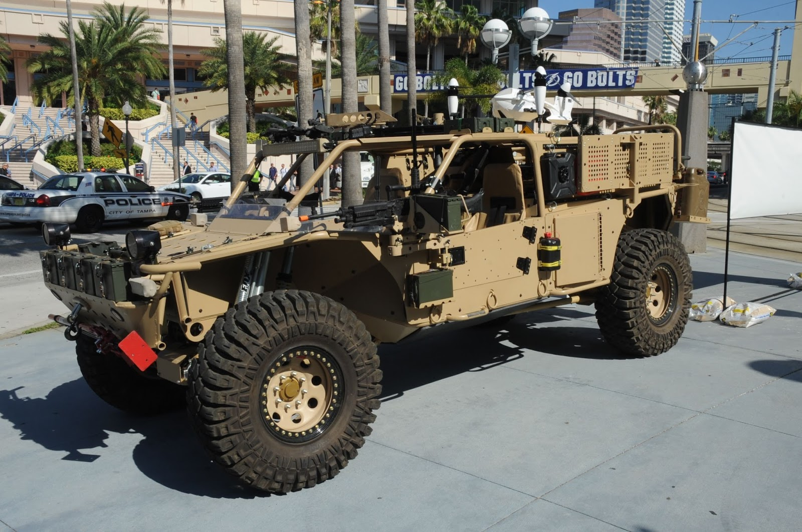 HDT Storm SRTV на SOFIC 2016 (c) MILITARY TECHNOLOGY miltechmag.com