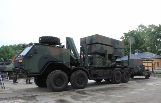 Пусковые установки зенитного ракетного комплекса Kongsberg/Raytheon NASAMS 2 армии Финляндии.