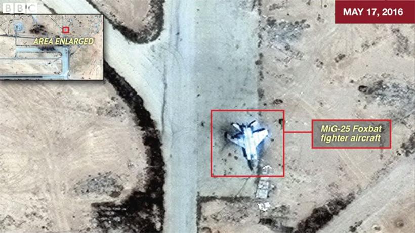 Снимки авиабазы за  17 мая
