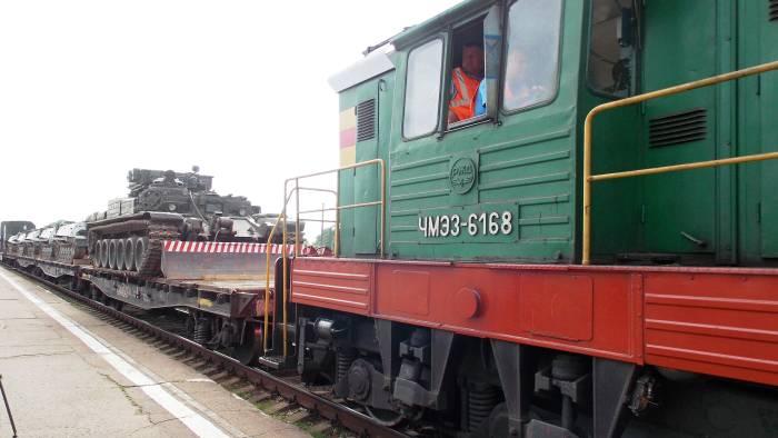 Фото прибытия военных на Ж/Д вокзал (с) klintsy.info