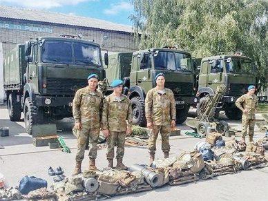 Армейские Богдан-МАЗы на вооружении ВСУ