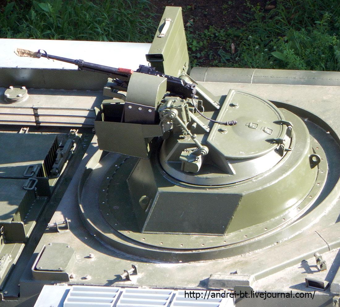 Модификация БТР-4 (B1370) с пулеметной установкой (с) andrei-bt.livejournal.com