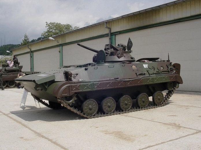 Боевая машина пехоты М-80А defence-blog.com