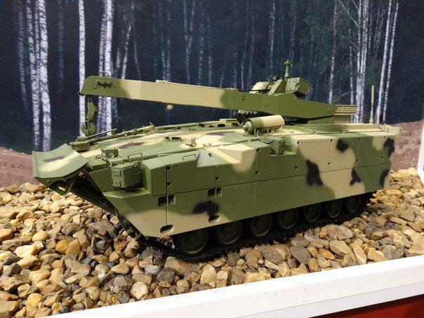 Модель бронированной ремонтно-эвакуационной машины на базе платформы «Курганец-25» vestnik-rm.ru